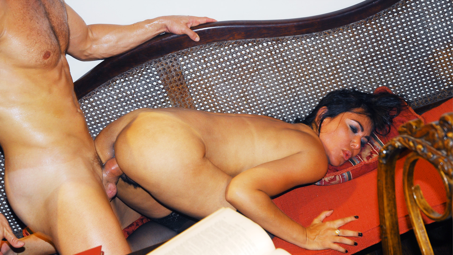 Layla Lopez Ends Up With Cum All Over Her Sexy Body