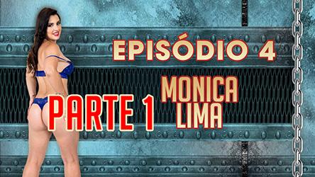Ep 4 Parte 1 – Monica Lima se masturbou e usou consolos na Casa