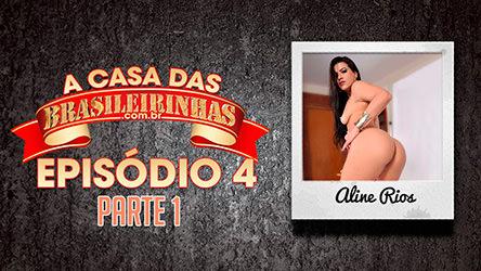 Aline Rios, morena gostosa, natural do Rio de Janeiro, no ensaio fotog