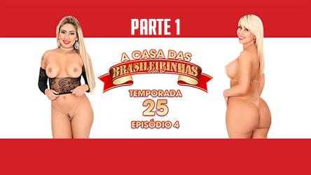 A Casa das Brasileirinhas - Temp. 25 - cena 4 Parte 1